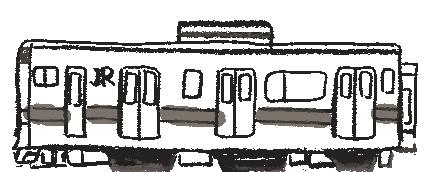 イラスト:汽車