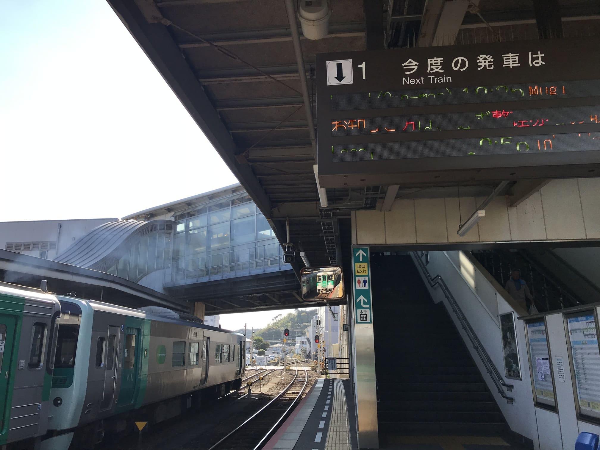 写真:阿南駅