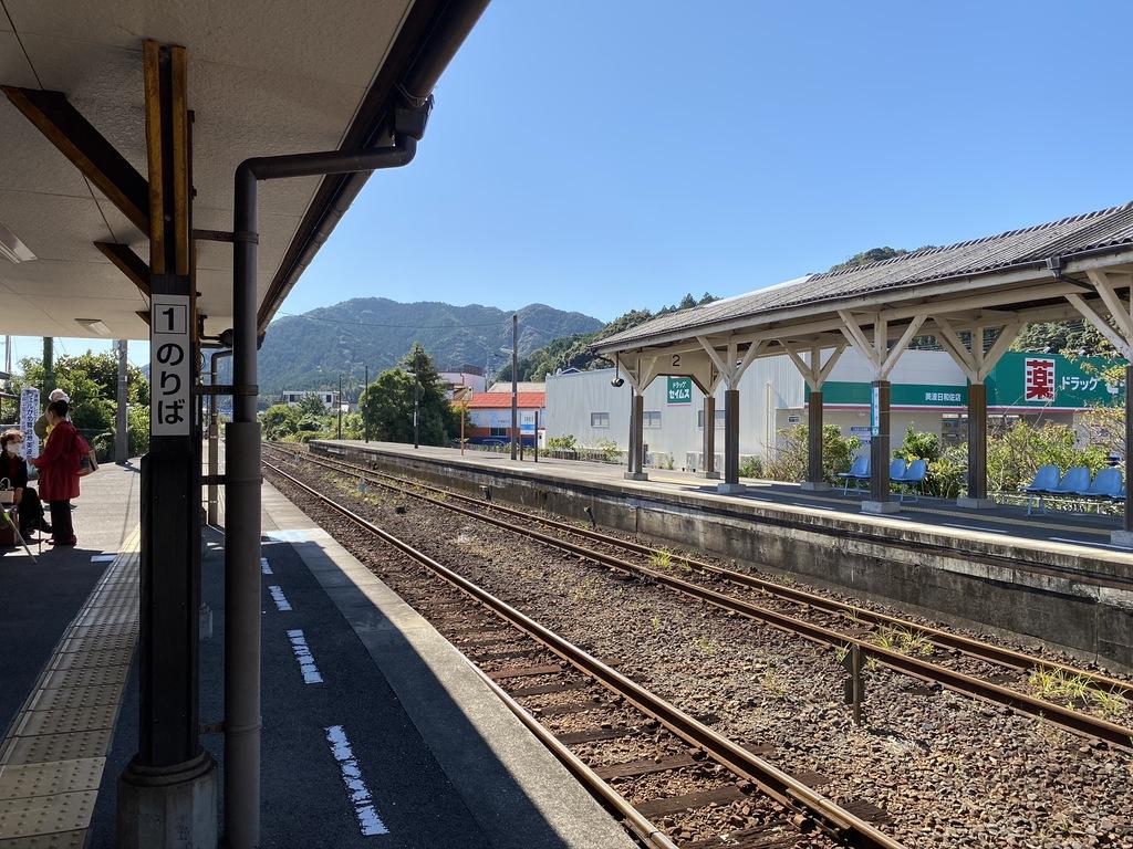 写真:日和佐駅