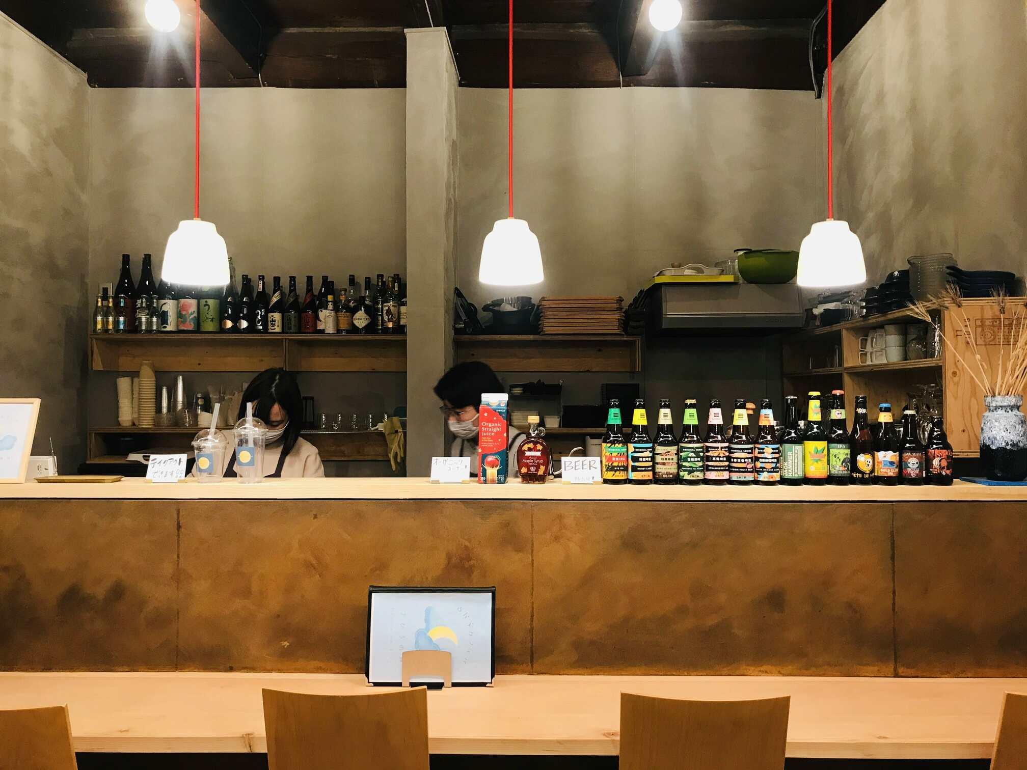 写真:自然派カフェ&バー『まひるの月』