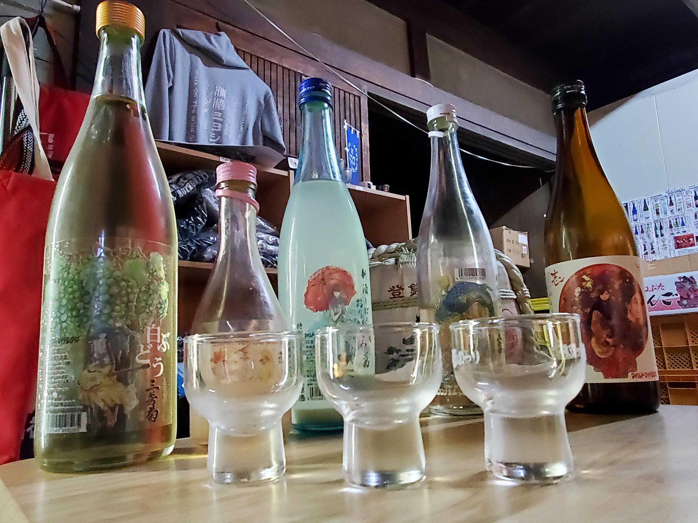 写真:三芳菊酒造