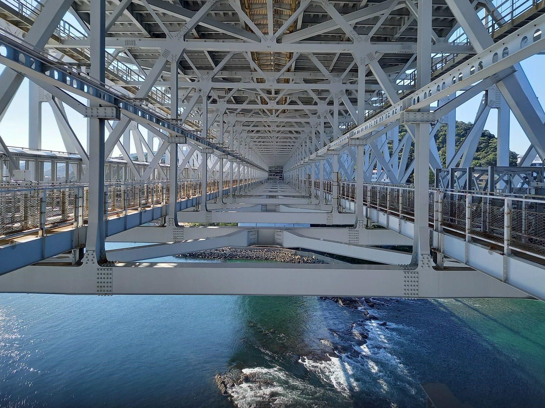写真:大鳴門橋遊歩道 渦の道