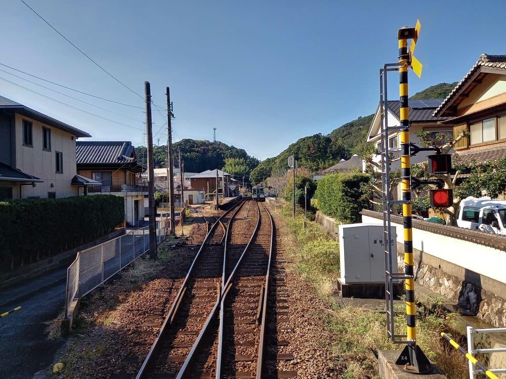 写真:由岐駅