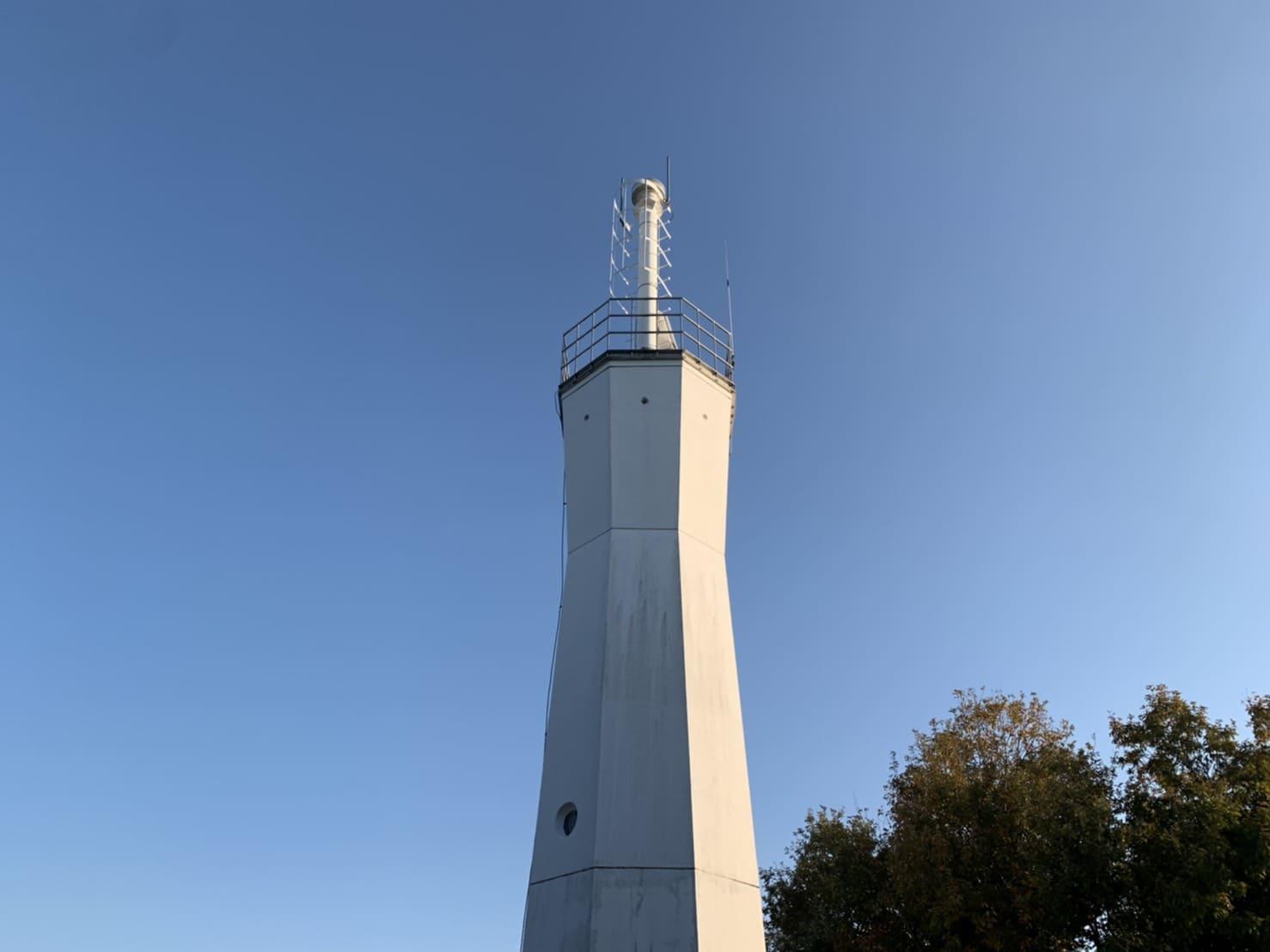 写真:出羽島灯台