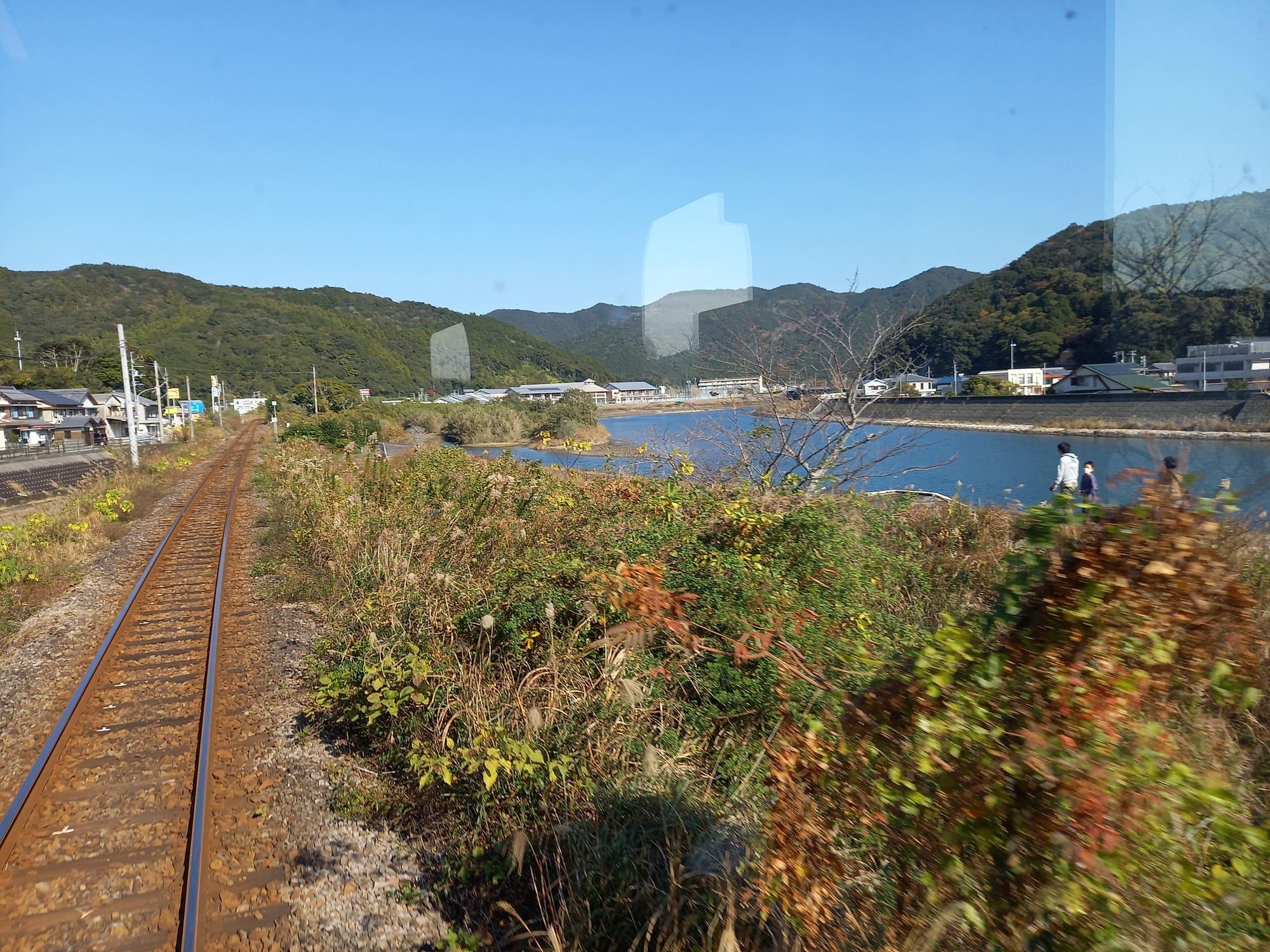 写真:北河内駅‐日和佐駅