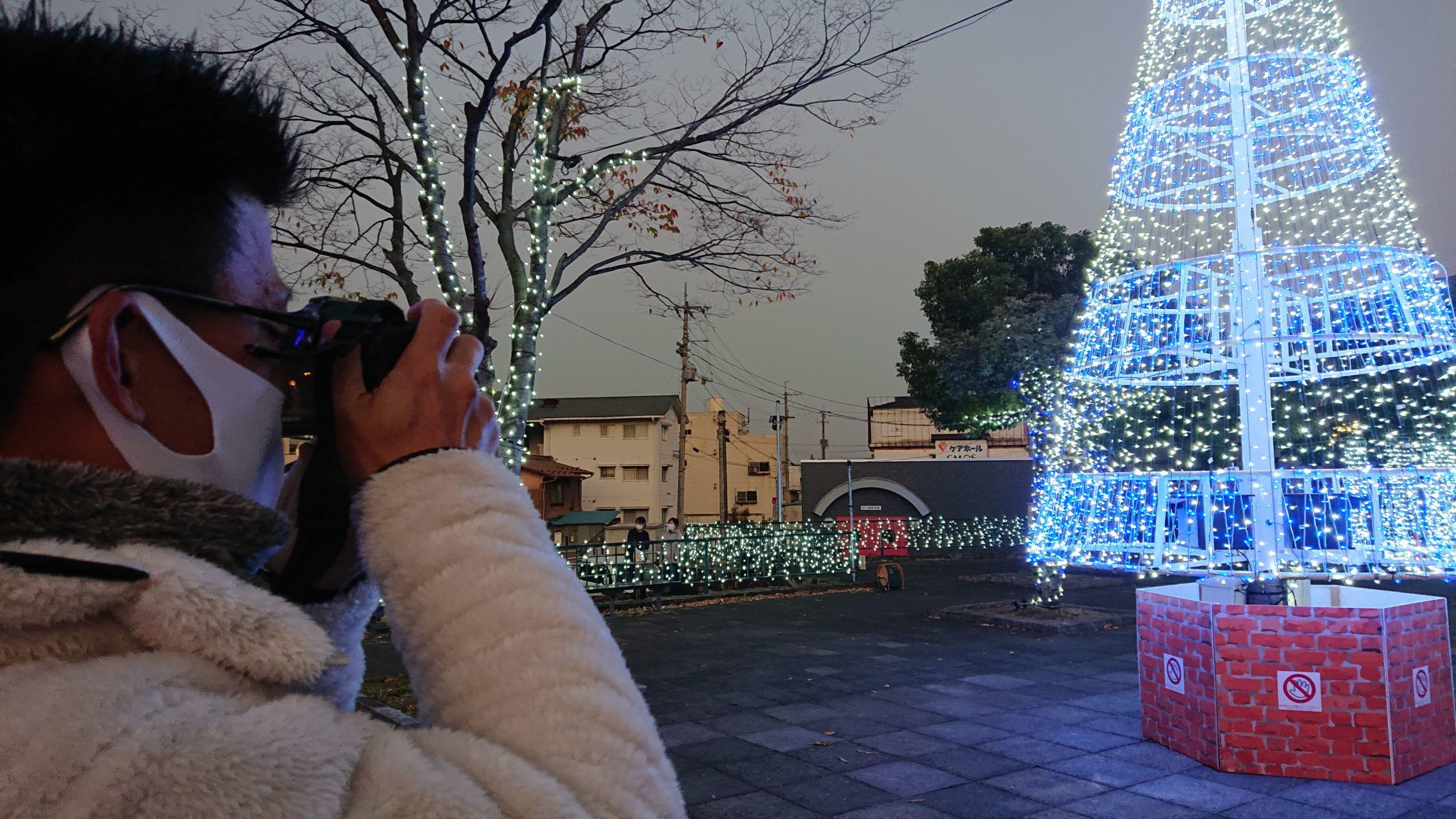 写真:阿波池田駅前イルミネーション