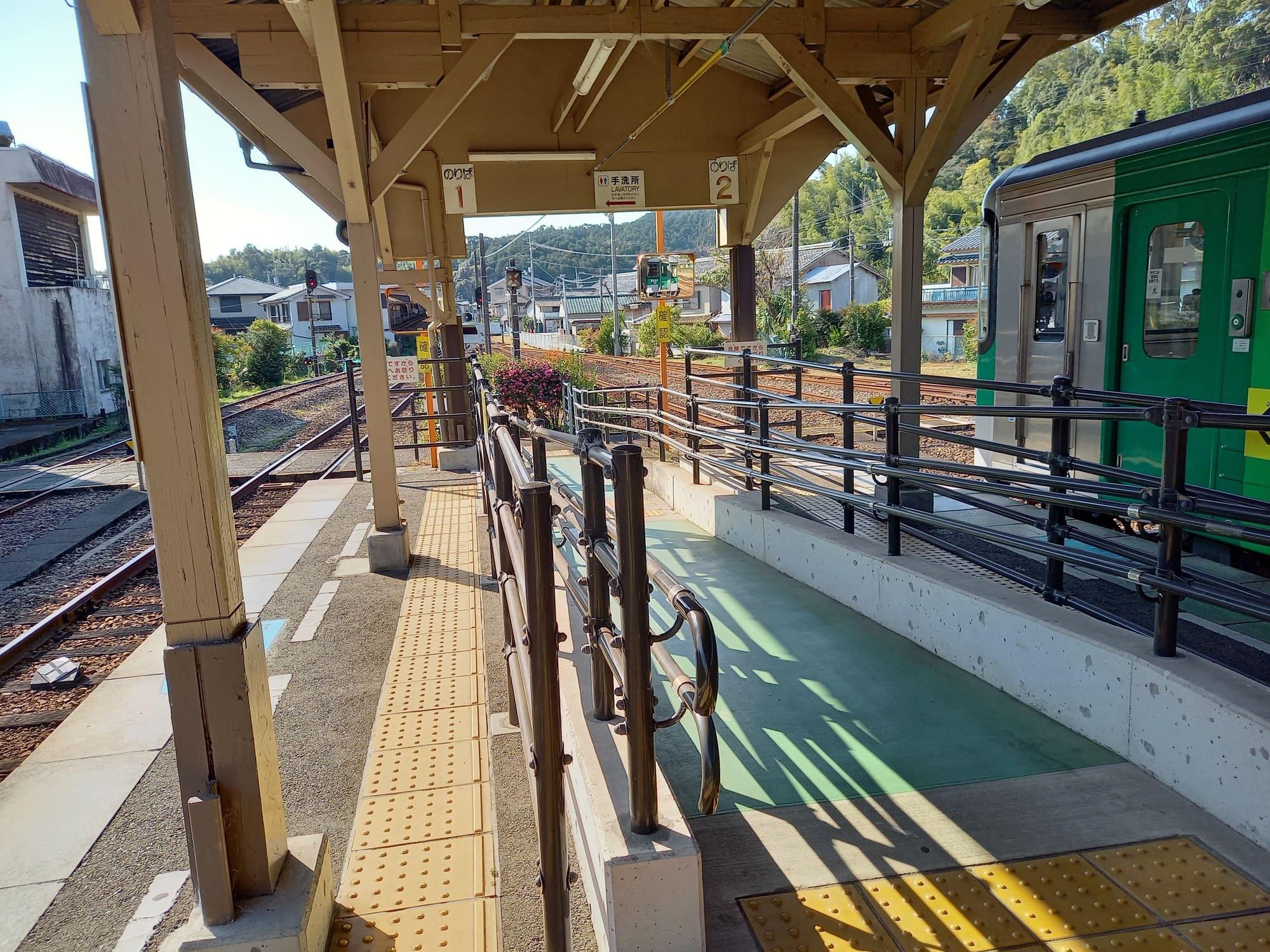 写真(大):牟岐駅