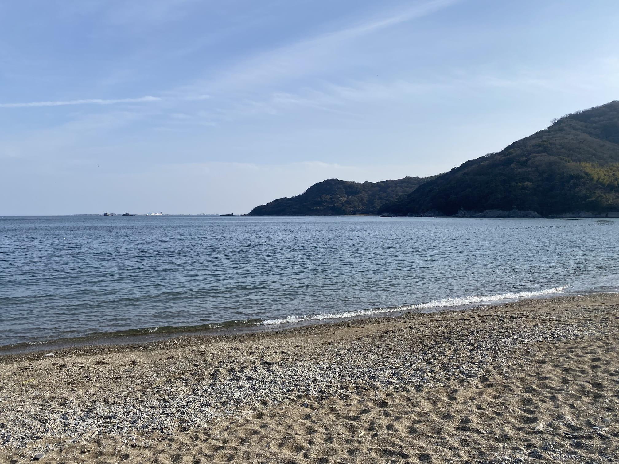 写真:大神子海岸